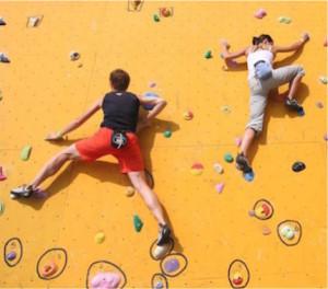 Helena Powell VentureOut Rock climbing