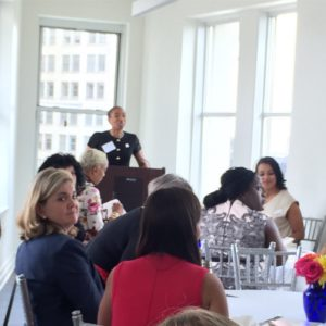Jen Bonnett, General Manager, ATDC, at luncheon