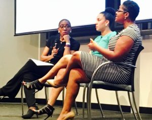NWBC's Carla Harris, Walkers Legacy Founder Natalie Cofield, and the lead Ph.D researcher--anyone pls drop me a name?